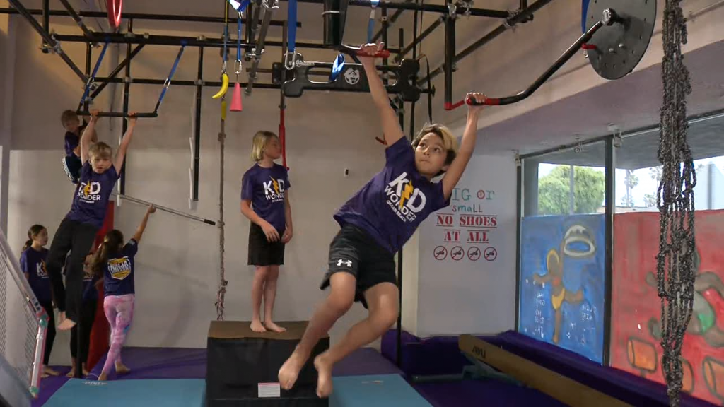 Kids Ninja Warrior Gym