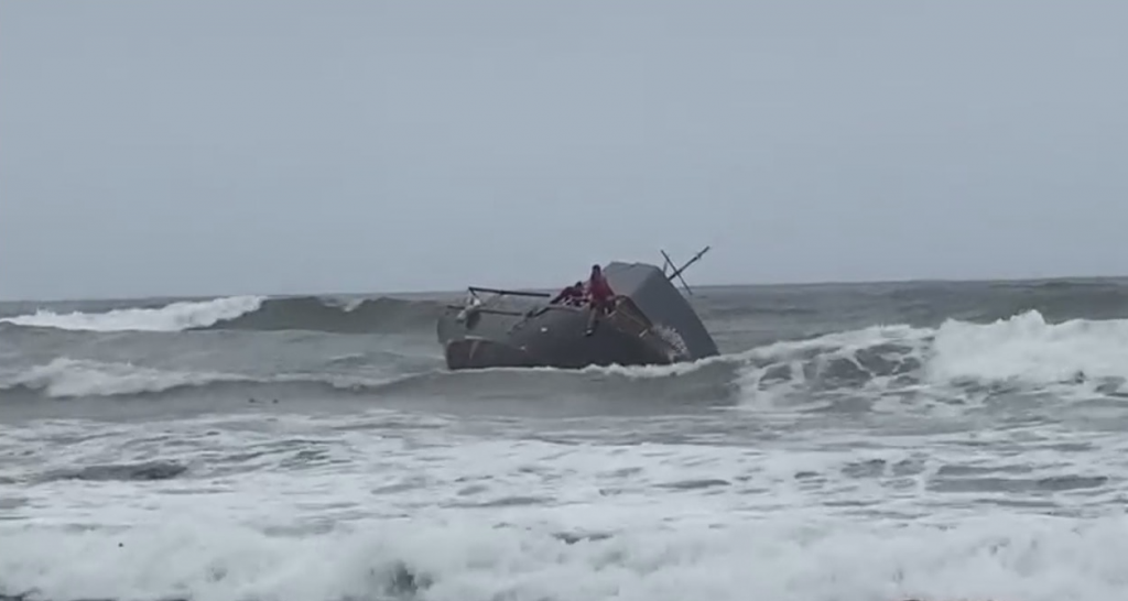 Capsized Boat 3