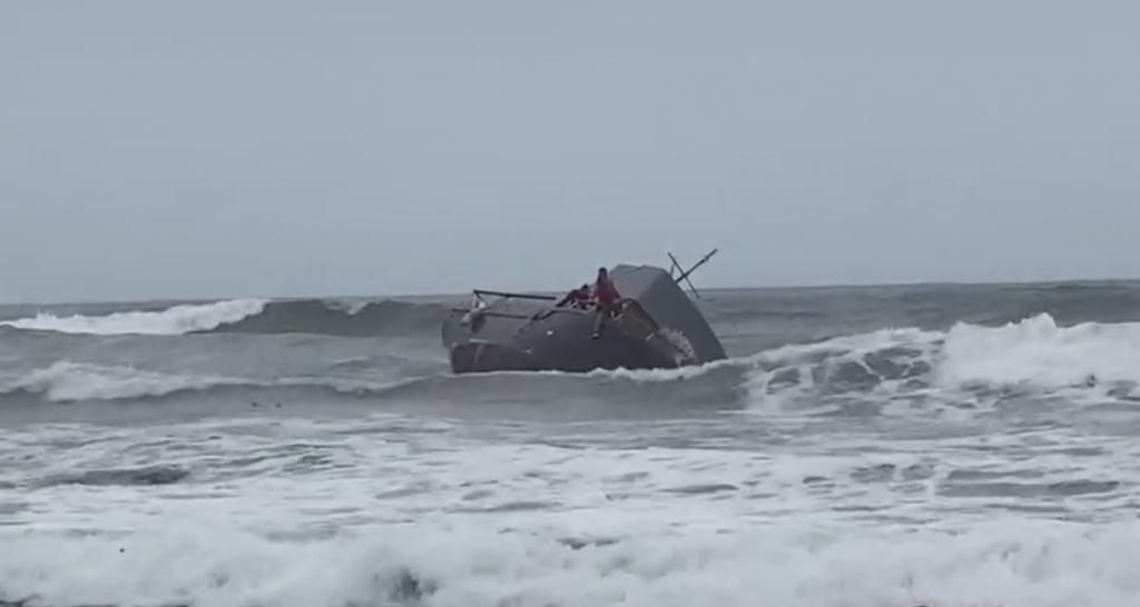Capsized Boat 3