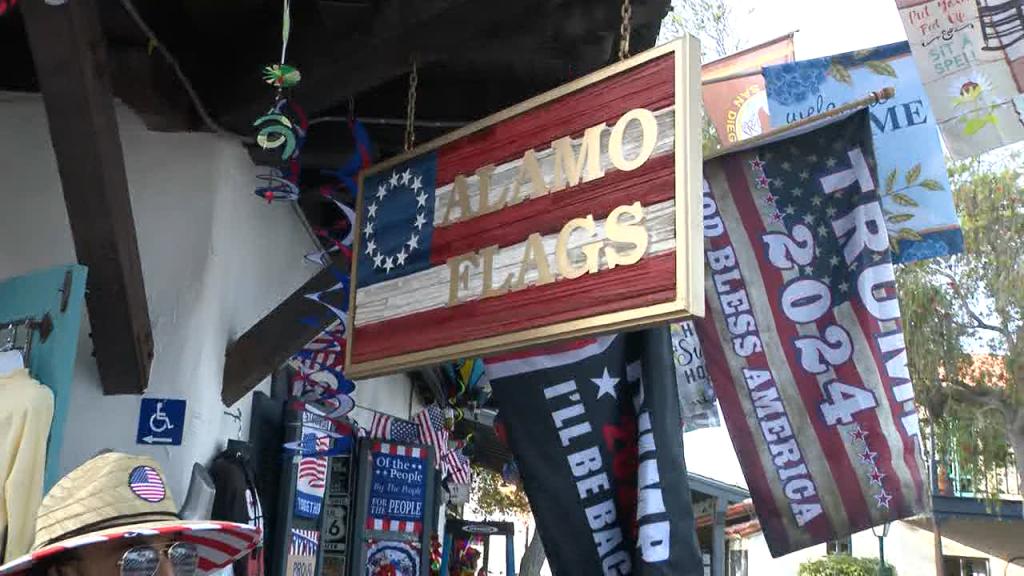 Alamo Flags Sign