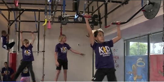Kidwonder, Ninja Warrior Gym Is Now Open In Ocean Beach