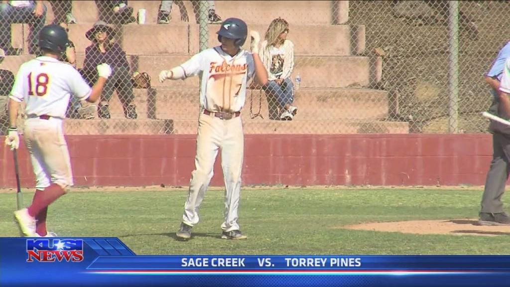 Baseball Torrey Pines Vs Sage Creek