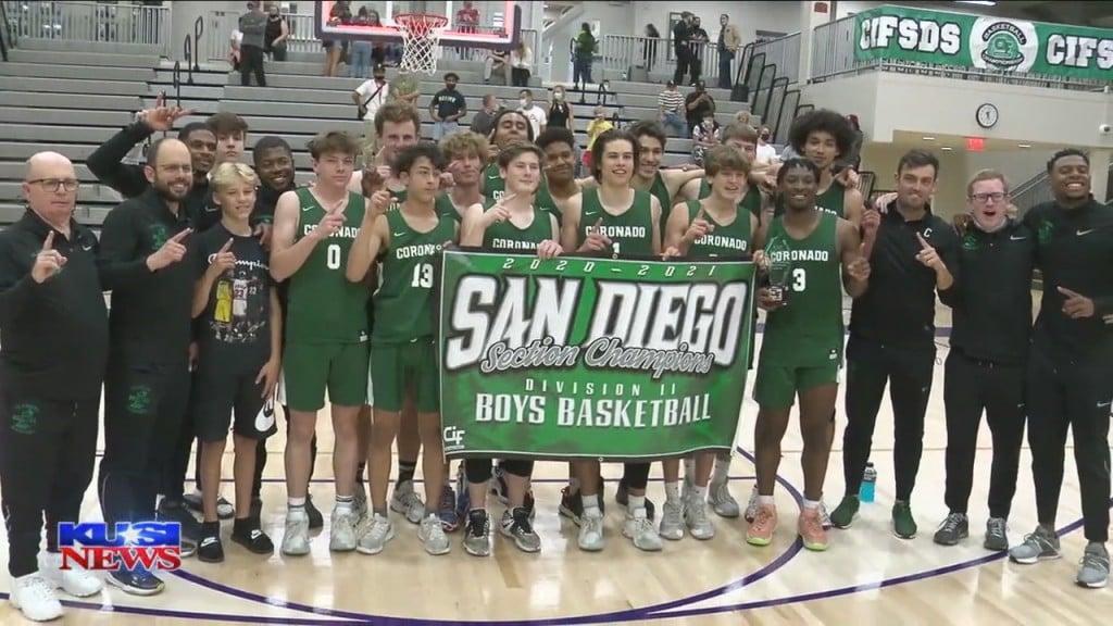 Boys Basketball Coronado Vs Orange Glen