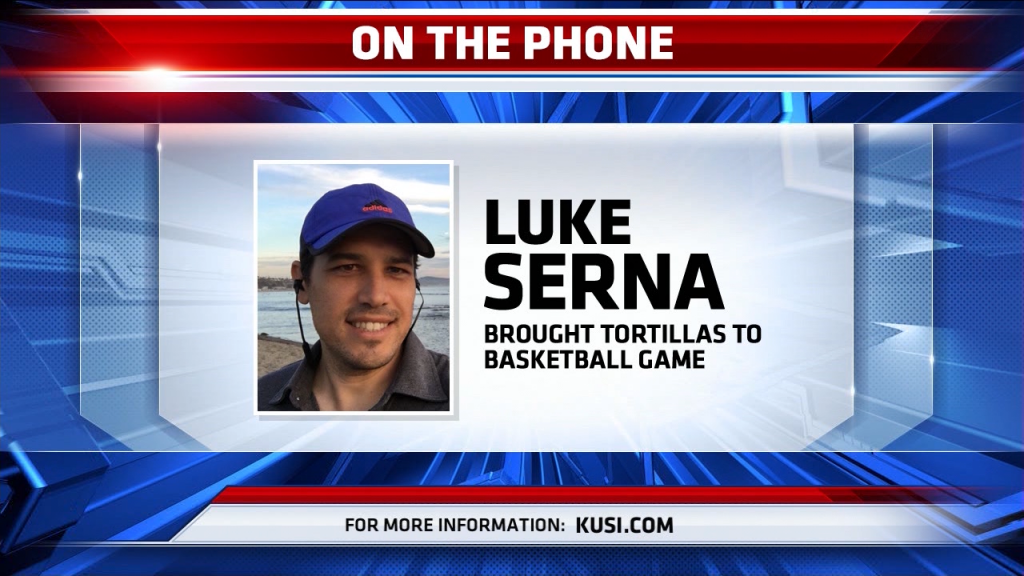 On The Phone Luke Serna