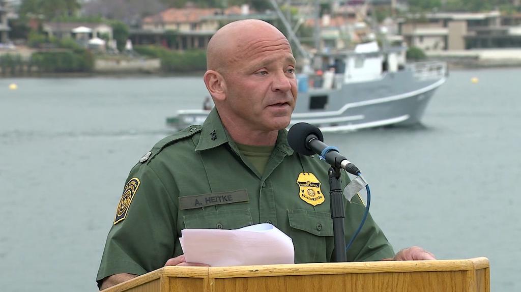 San Diego Border Patrol Speech