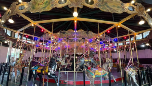 The Balboa Park Carousel Reopens After Year Long Closure Due To The Pandemic
