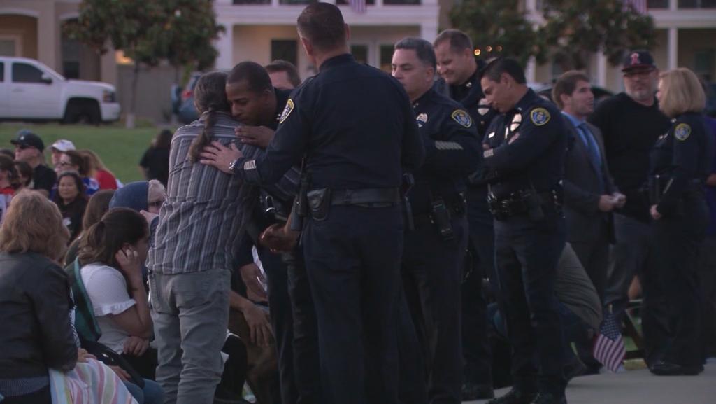 Police Officers Vigil