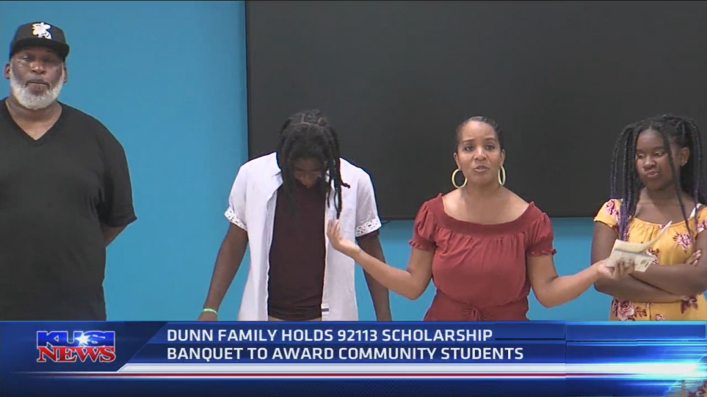 Dunn Family Holds 92113 First Scholarship Banquet