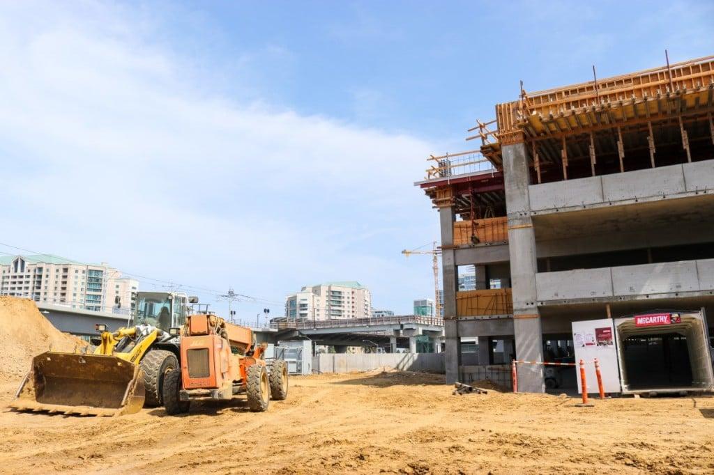 Thumbnail Sandag Mid Coast Utc Parking Structure July 2021