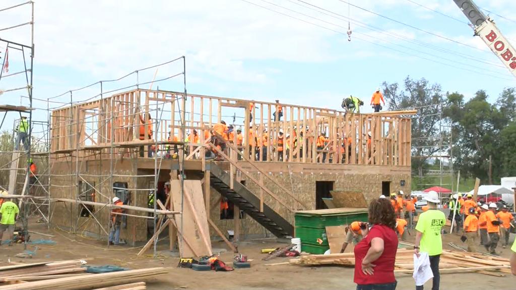 Homeless Housing Construction