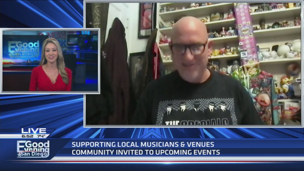 Preview Of Local Musicians Performing At Venues Around San Diego