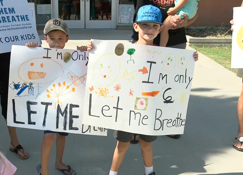 Let Them Breathe Children