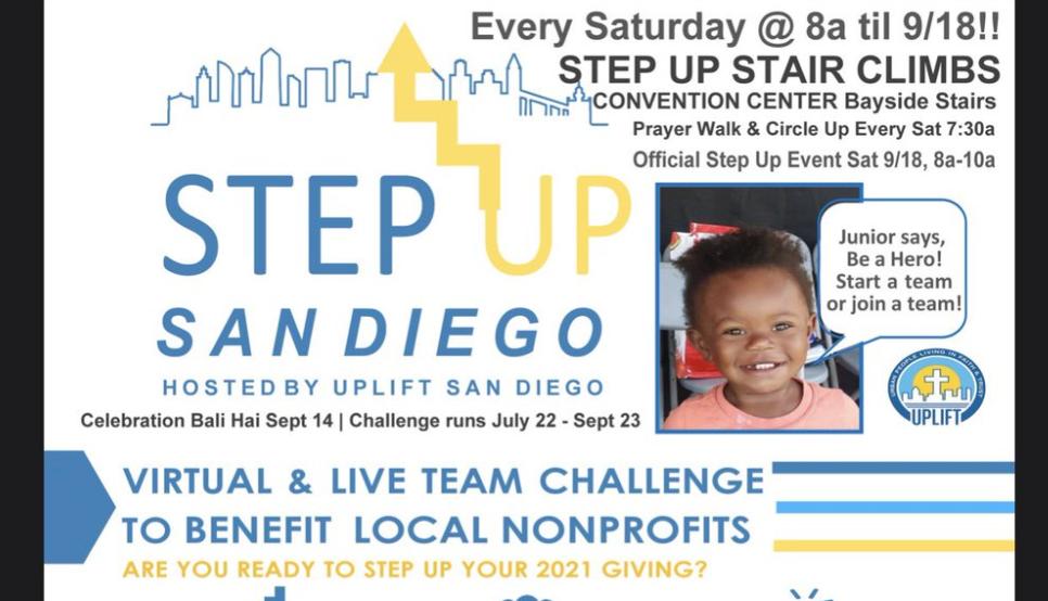 Uplift San Diego 2021 Step Up Team Challenge Benefits Local Organizations
