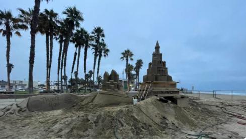 Sun & Sea Festival 2021 Transforms Into Sandcastle City In Imperial Beach, Ca