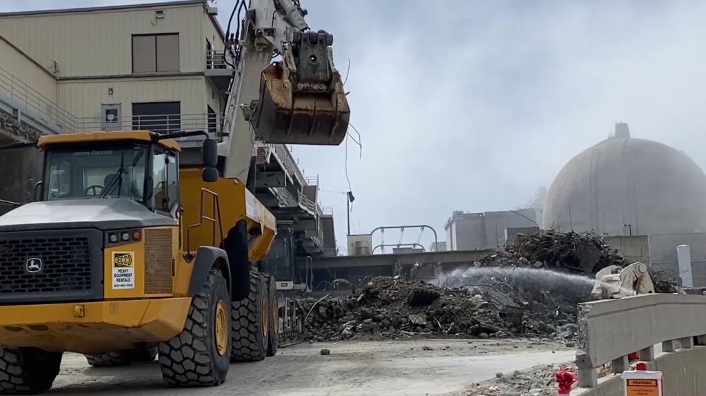 San Onofre Plant Demolition