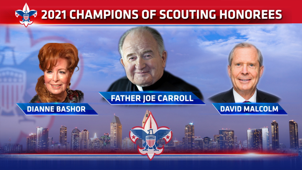 2021 Champions Of Scouting Honorees