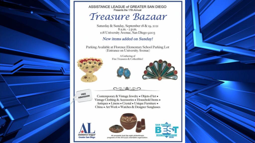 Treasure Bazaar Flyer