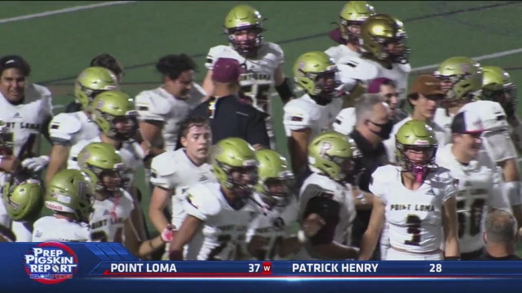 W4 Point Loma 37 Vs Patrick Henry 28