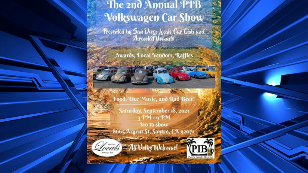 2nd Annual Pib Vw Car Show Featured