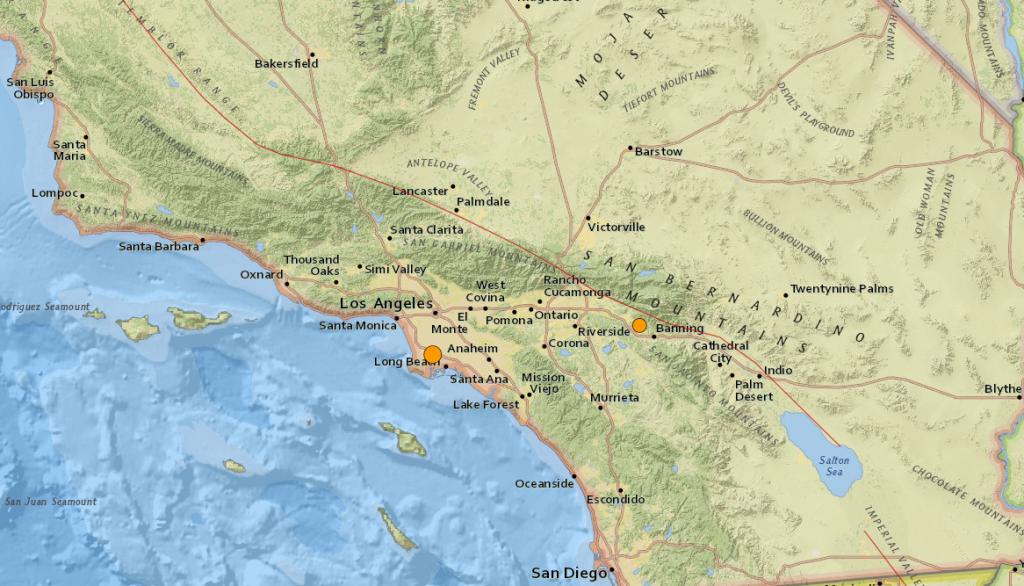 Earthquake Carson