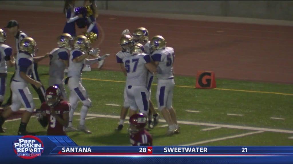 W4 Santana 28 Vs Sweetwater 21