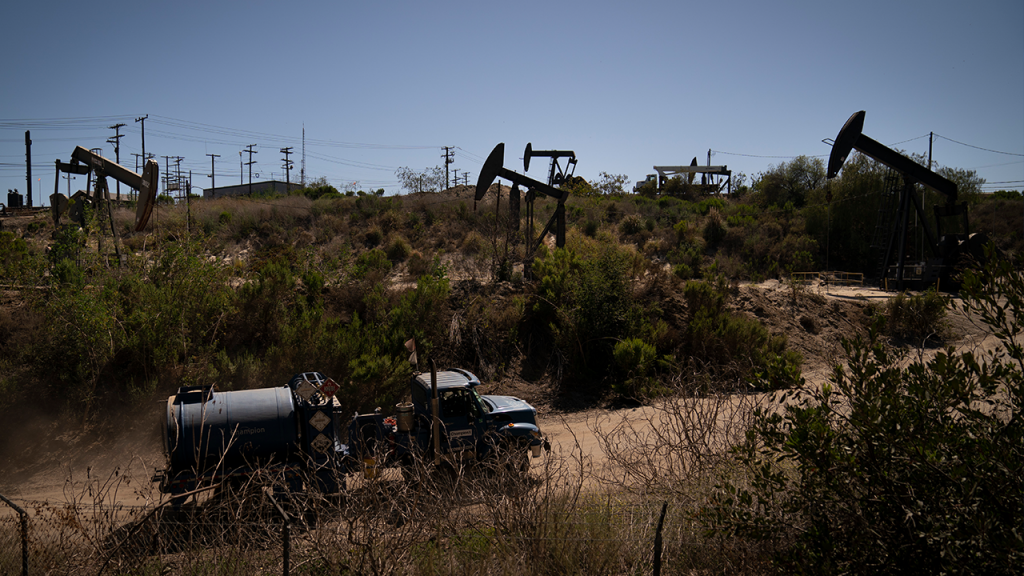 Oil Drilling Los Angeles County