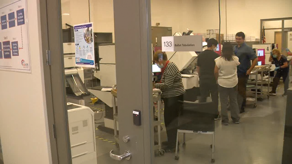 Registrar Of Voters Tabulation