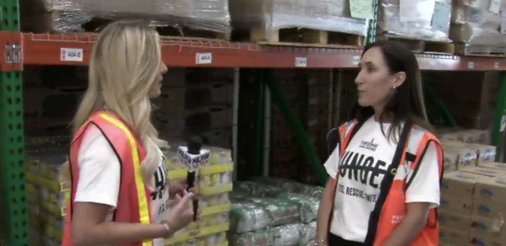 Feeding San Diego Launches The Cross Out Hunger Campaign During The Month Of September