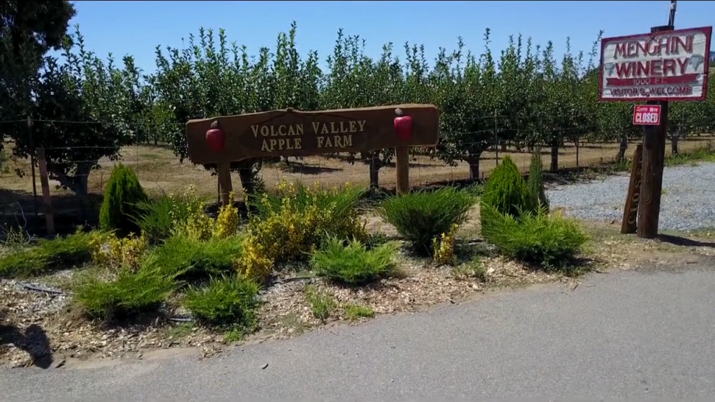 The Voclan Valley Apple Farm In Julian Is Open
