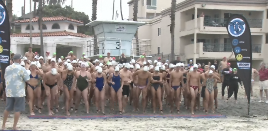 The 92nd Annual Labor Day Pier Swim In Oceanside Raises Funds For Local Nonprofit