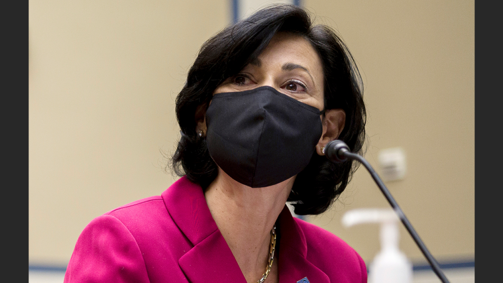 Rochelle Walensky With Mask On