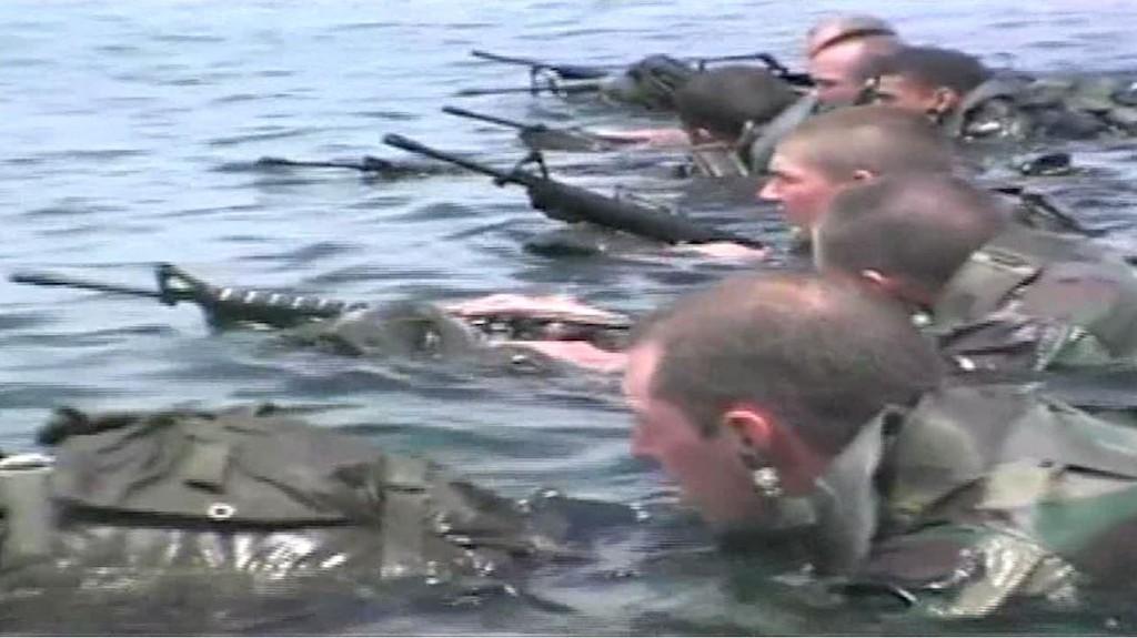 Navy Seals In Water