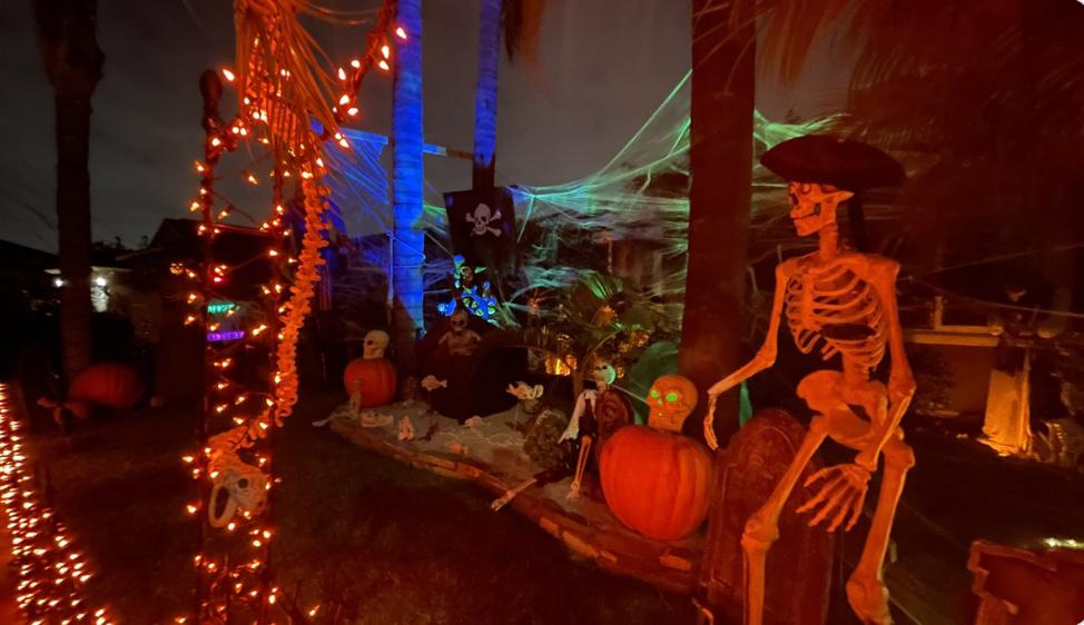 Former San Diego Councilman, Scott Sherman Creates A 'pirate Graveyard' For Halloween Celebrations