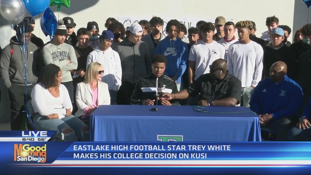 Trey White Live Talk Back Eastlake High School