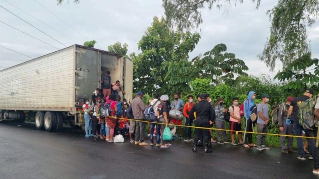 Migrants In Guatamala