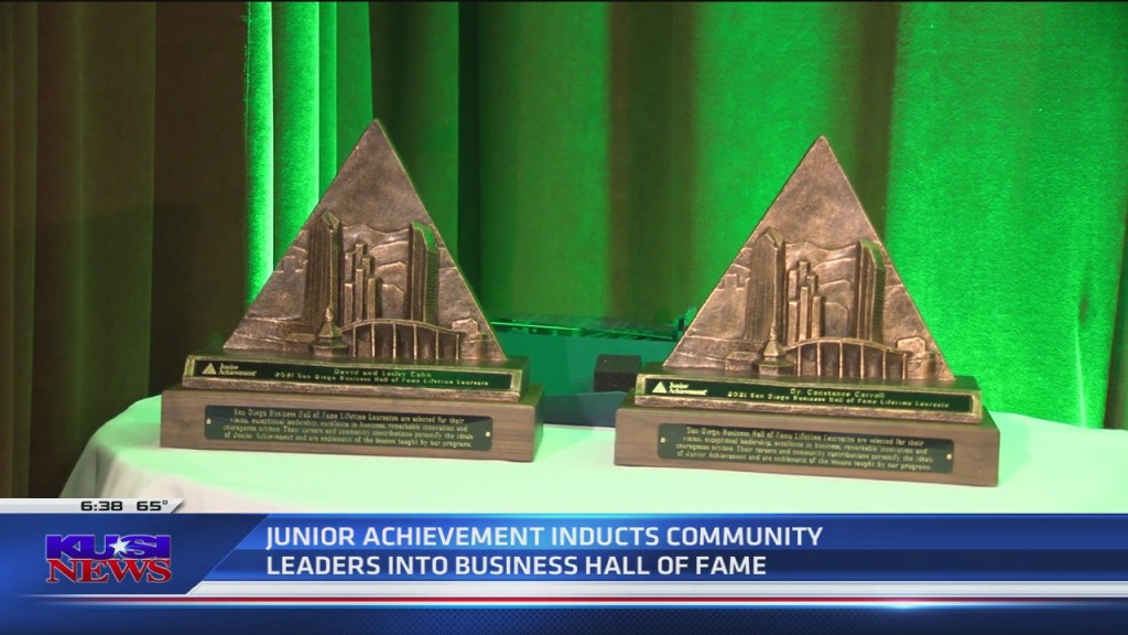 Junior Achievement Inducts Community Leaders Into Business Hall Of Fame