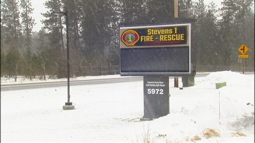 Stevens County Fire District 1 reminds residents about warming shelter