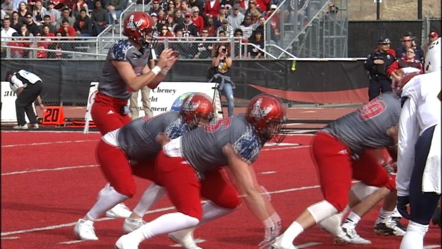 Eastern rolls past Northern Colorado