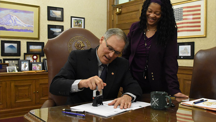 Governor Inslee signs changes to Spokane County commissioner elections
