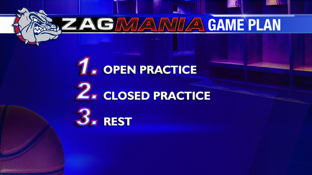 Zag Mania Game Plan Wednesday: the day before tip-off