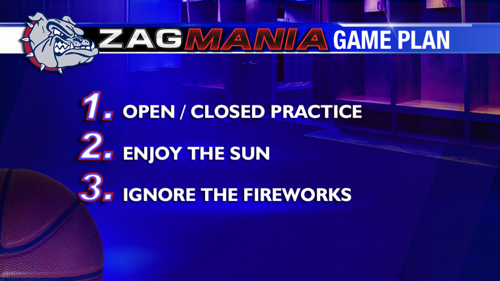 Zag Mania Game Plan: Wednesday, March 27th