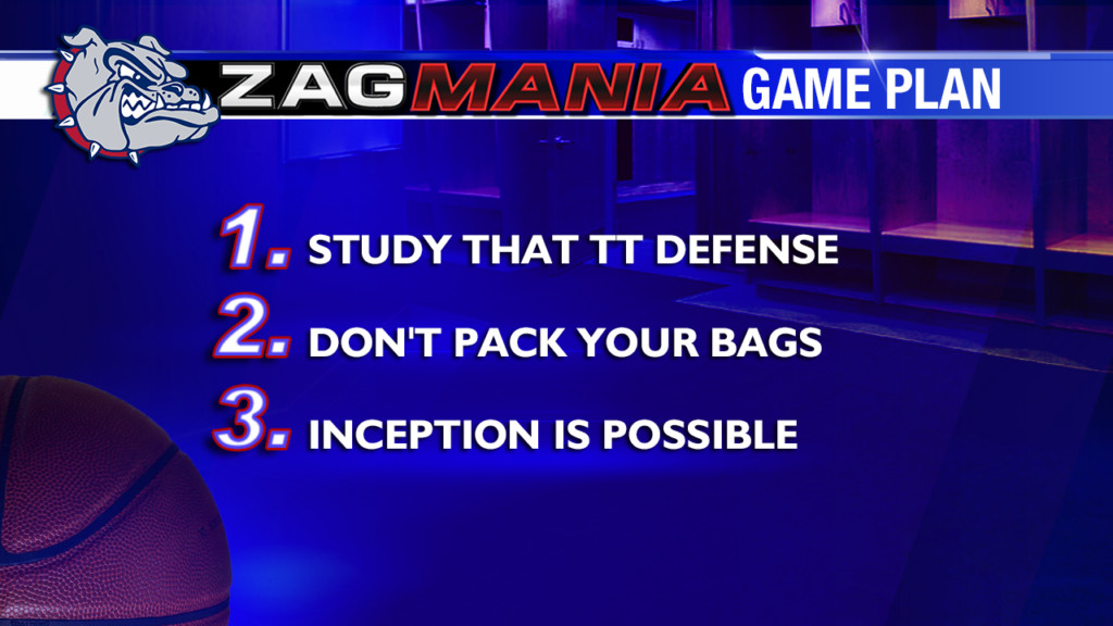 Zag Mania Game Plan: Friday, March 29th