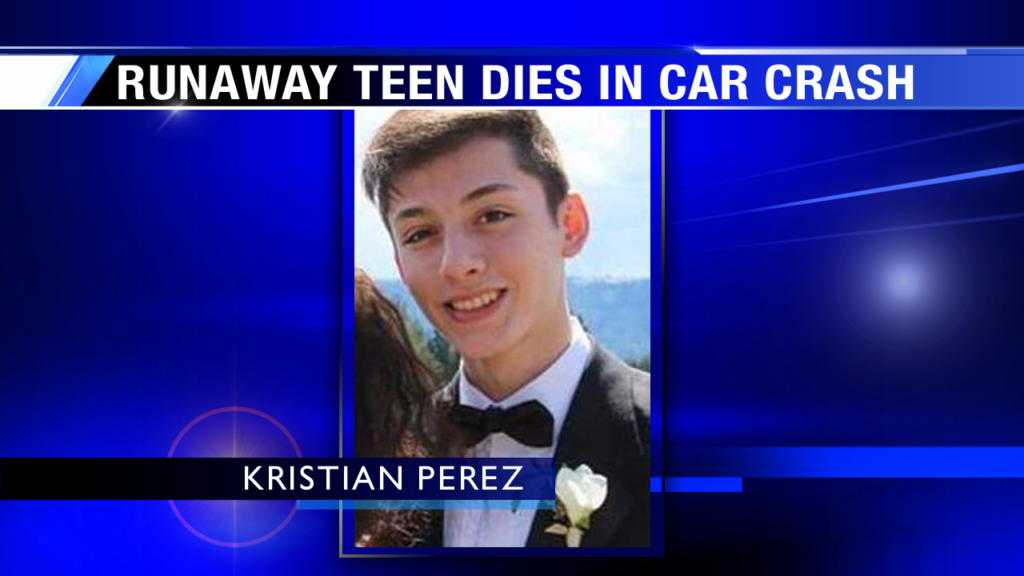 Teen reported missing after prom dies in car wreck