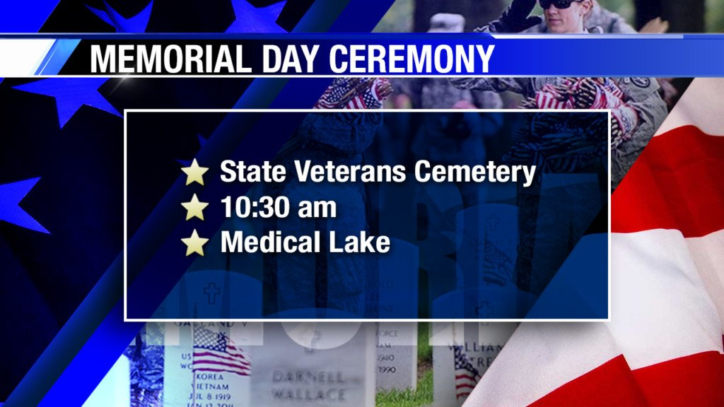 Memorial Day ceremonies, discounts and special events for active military & veterans