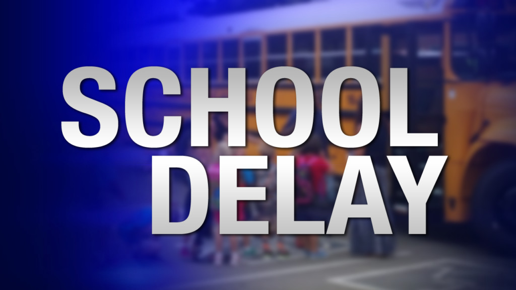 Several local school districts on 2-hour delay Tuesday