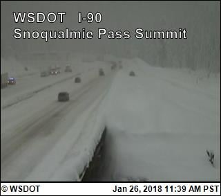I-90 Snoqualmie Pass now open in both directions