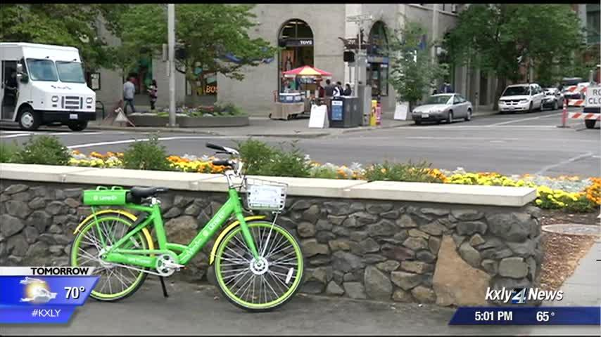 Lime bike and scooter trial ends Friday