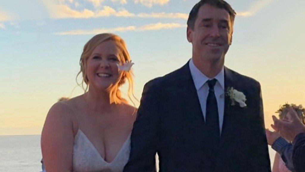 Details about Amy Schumer's surprise wedding