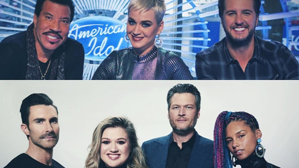 American Idol vs. The Voice : Inside the singing competition showdown