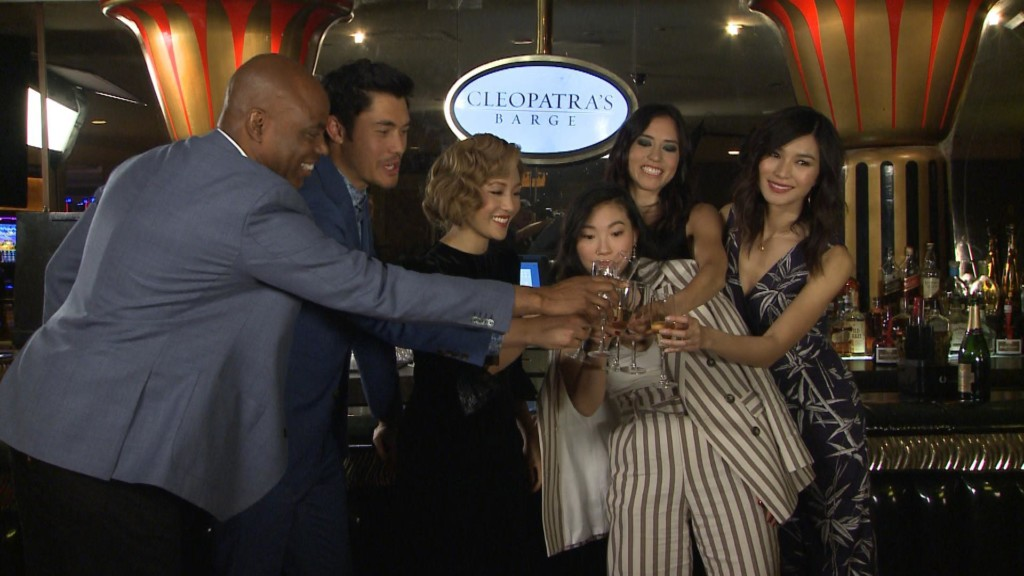 'Crazy Rich Asians' cast take over Cinemacon 2018